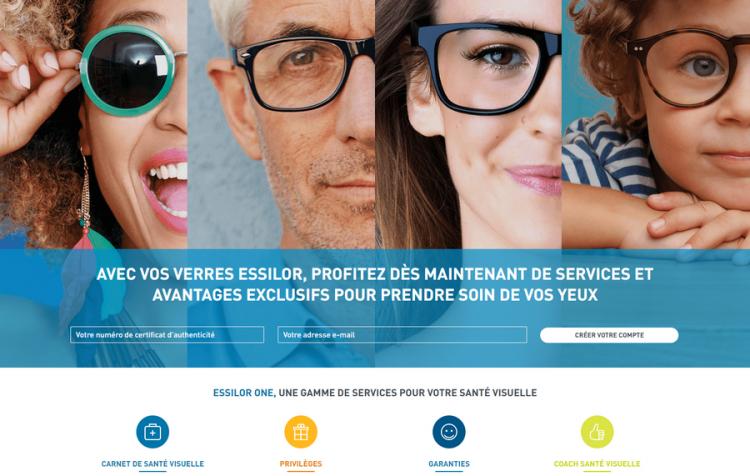 Essilor one vous simplifie la vue. Des services exclusifs pour les porteurs de verres Essilor.