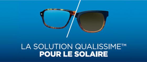 Offres Qualissime pour vos lunettes de soleil